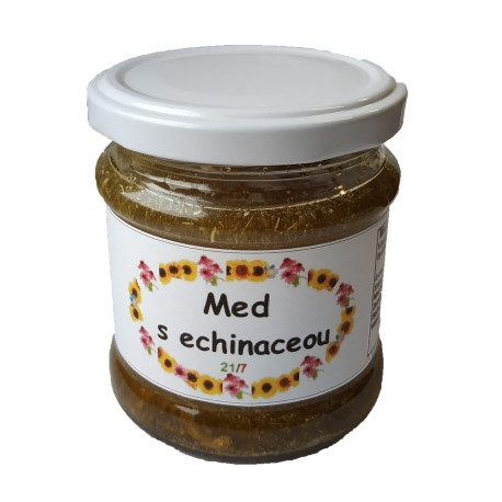 Med s echinaceou 250 g
